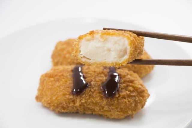 冷凍食品のカニクリームコロッケのカロリーは?-2