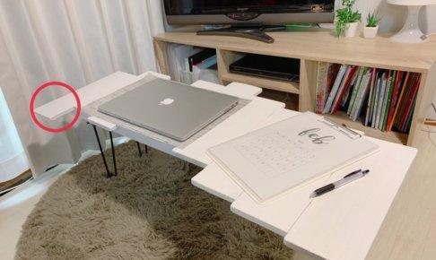 【パレットリメイク③】おしゃれで画期的!形にこだわったテーブルをDIY