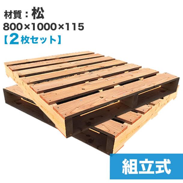 使用するパレット(木材)のサイズ
