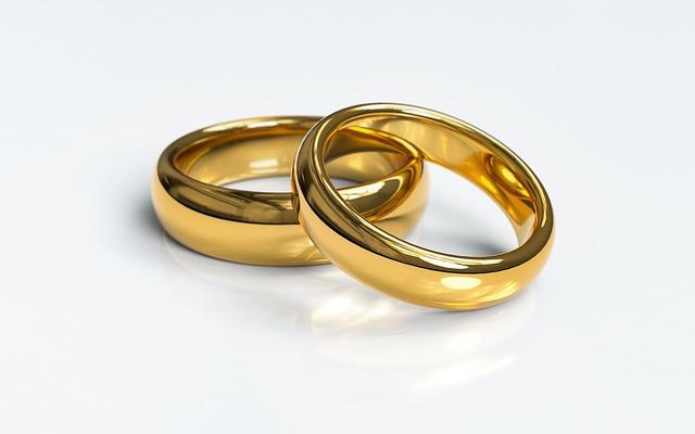 結婚できるおまじない②指輪はイエローゴールドがおすすめ