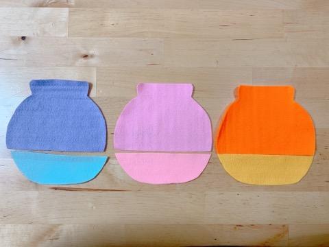 プーさんの壁飾り③はちみつの壺の飾りを作る-2