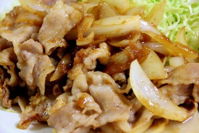生姜焼き・豚肉に含まれる栄養素