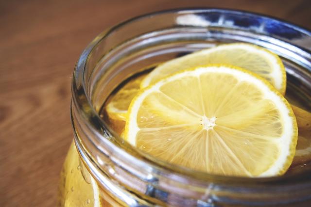 はちみつレモンの食べ方
