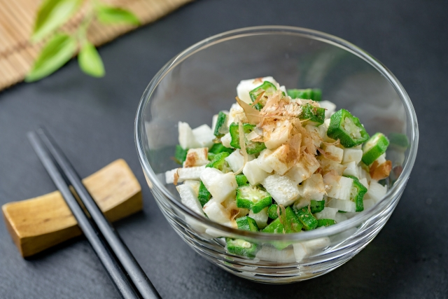 長芋の栄養成分と相性の良い食べ合わせ