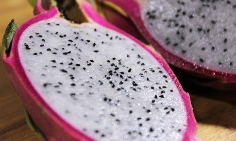 ドラゴンフルーツの栄養って?どんな効果がある?カロリーや栄養価、食べ方も