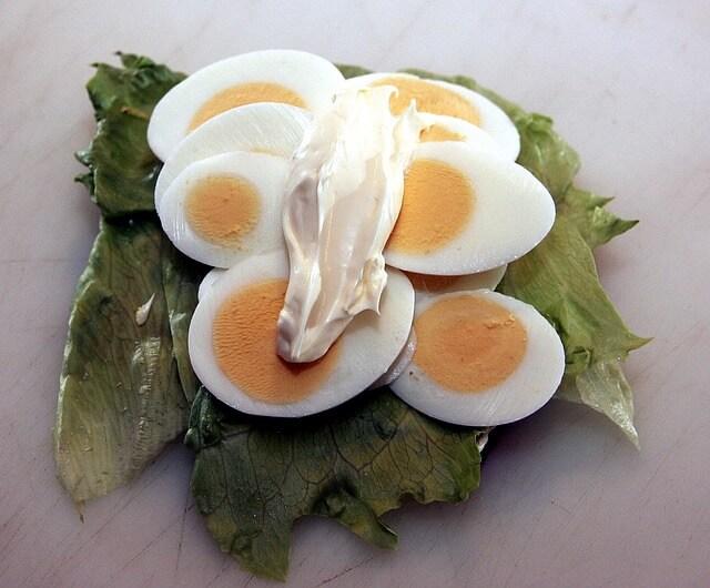 ゆで卵ダイエットにマヨネーズを使ってもいいの?
