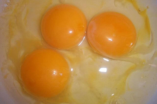 卵の栄養価を効率的に摂取する調理方法