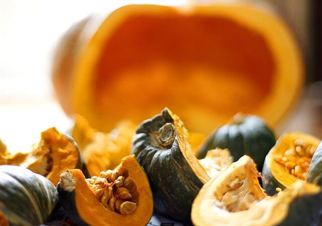 かぼちゃの栄養を逃がさず調理するポイントは?