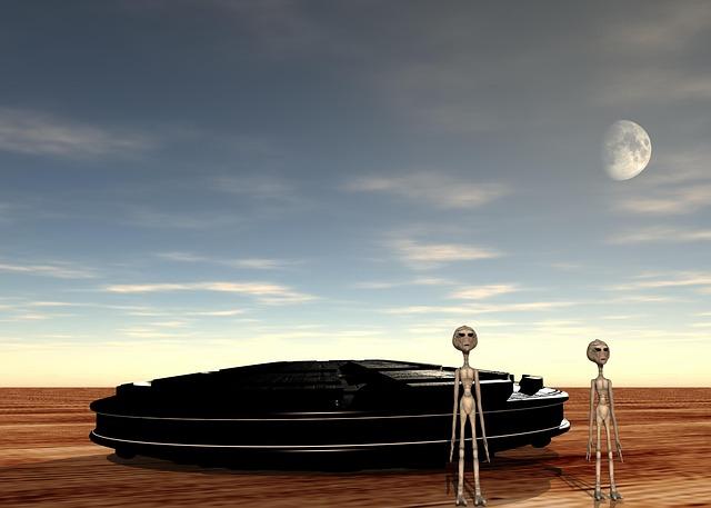 UFOが出てくる面白い夢!夢占いでの意味は?-3