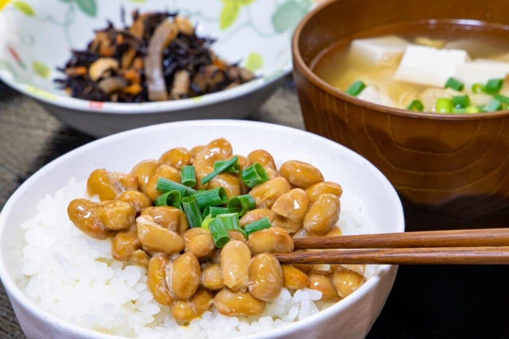 脂肪燃焼を促す食材⑥納豆