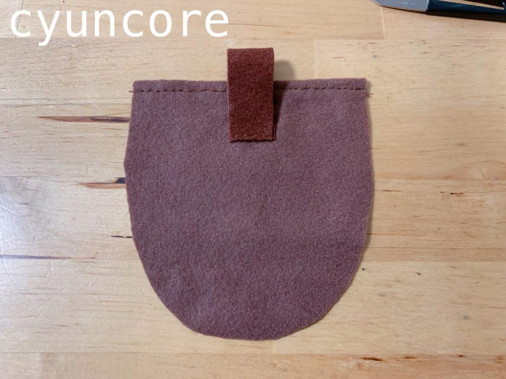 作り方②バッグの入れ口を端処理する-3