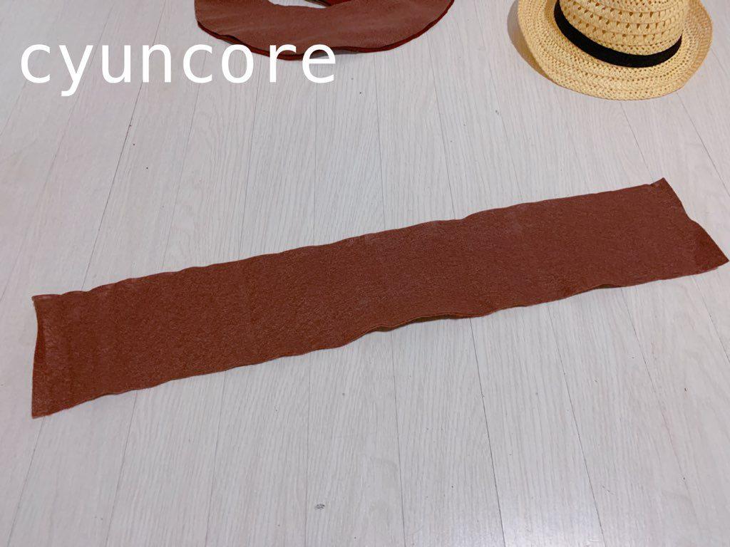 ウッディー帽子の作り方-4