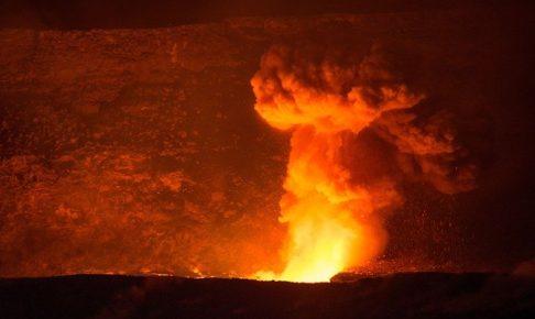 噴火の夢の夢占い!火山が噴火する夢は吉夢?