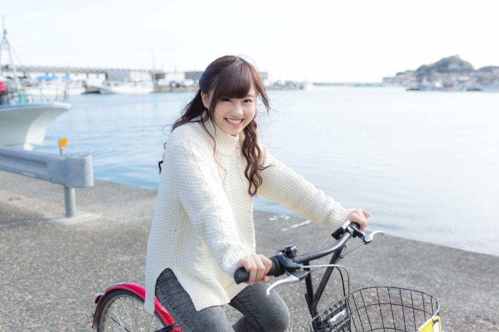 自転車は手軽に出来る運動
