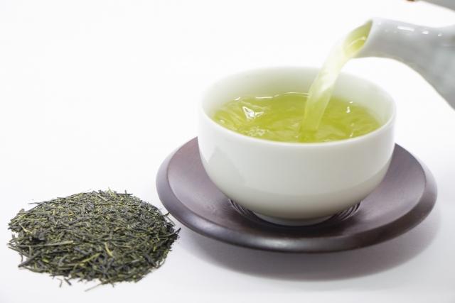 緑茶のカフェイン量ランキング
