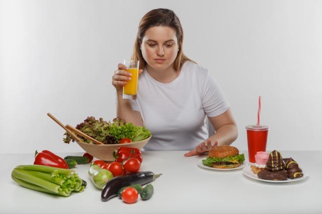 2週間で見た目を変えたいなら食生活を変える