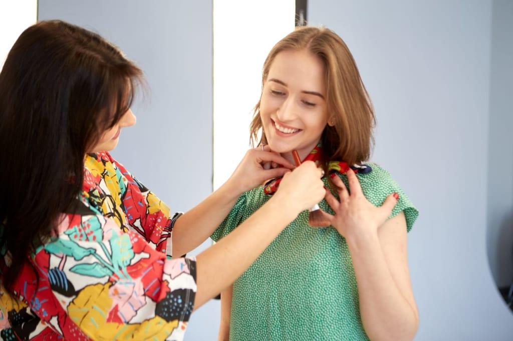 ファッションセンスを磨く方法は、店員の意見を聞くことから