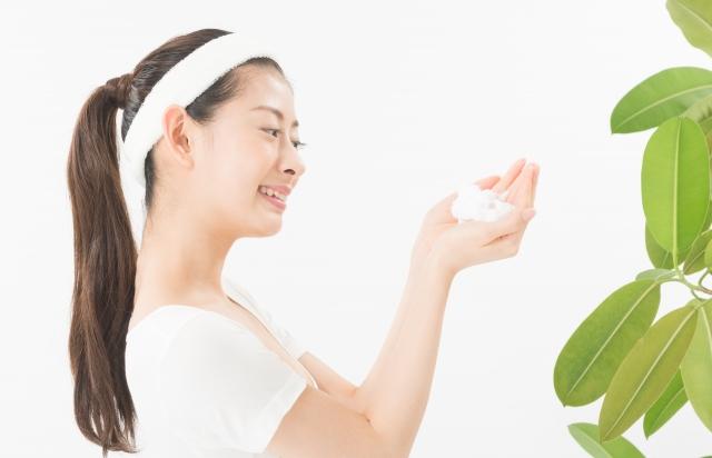 洗顔ブラシの正しい使い方
