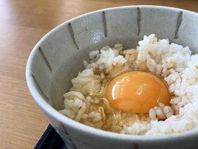 卵かけご飯のカロリー