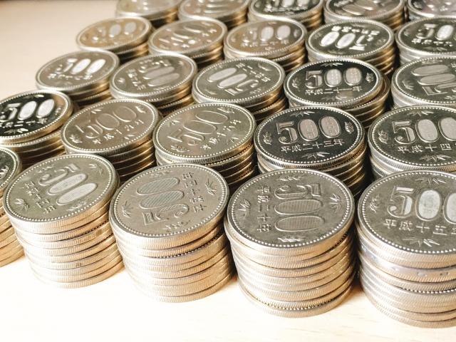 500円玉貯金の目標金額が貯まったらどうする?銀行やATMで両替する?