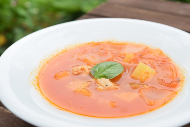 トマトスープのカロリーは?