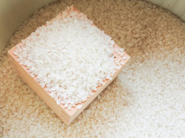 米1合あたりのカロリー