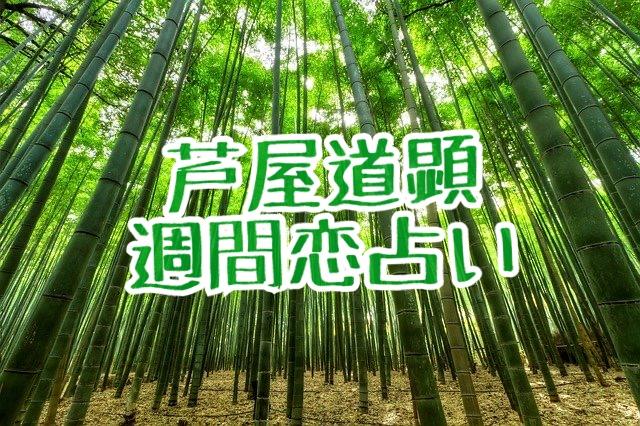 5月25日-5月31日の恋愛運【芦屋道顕の音魂占い★2020年】