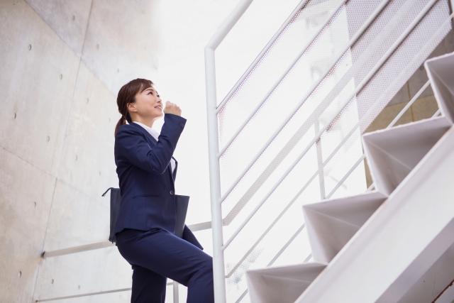 階段で消費するカロリーの計算式