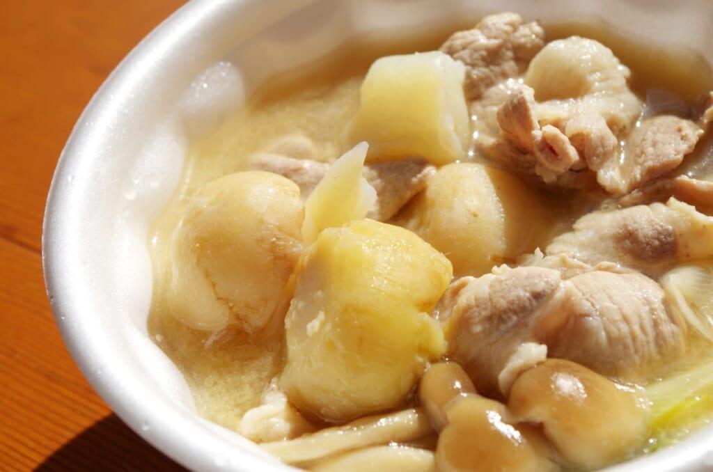 冷凍里芋でも大丈夫!?栄養アップの食べ合わせレシピ
