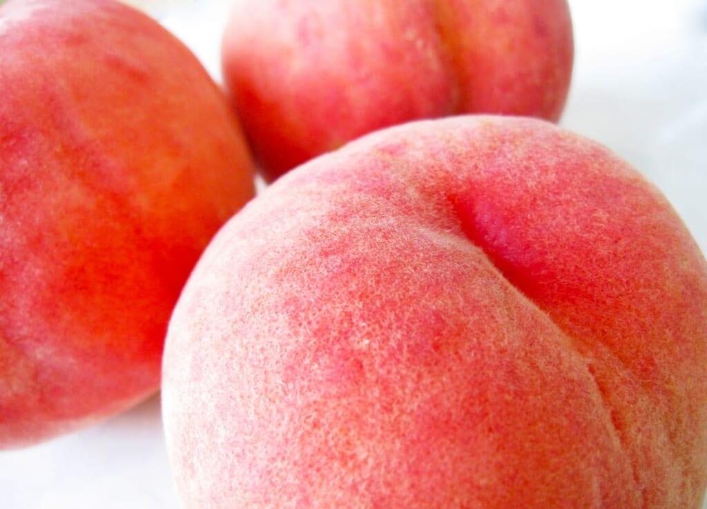 桃の栄養効果は?