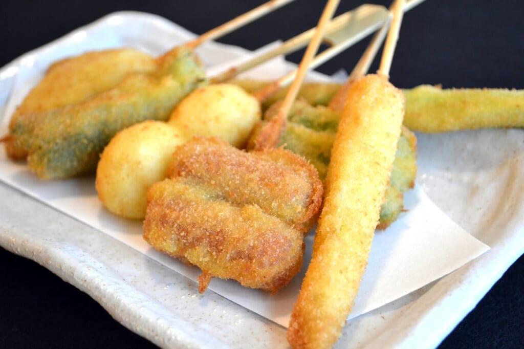 串カツ屋でカロリーがわからない!ダイエット中でも太らない串カツの食べ方-2