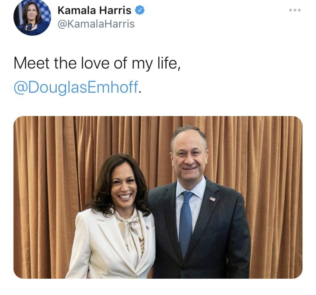 【相性占い】暫定・初の女性副大統領カマラ・ハリスと夫ダグ【辛口オネエ】