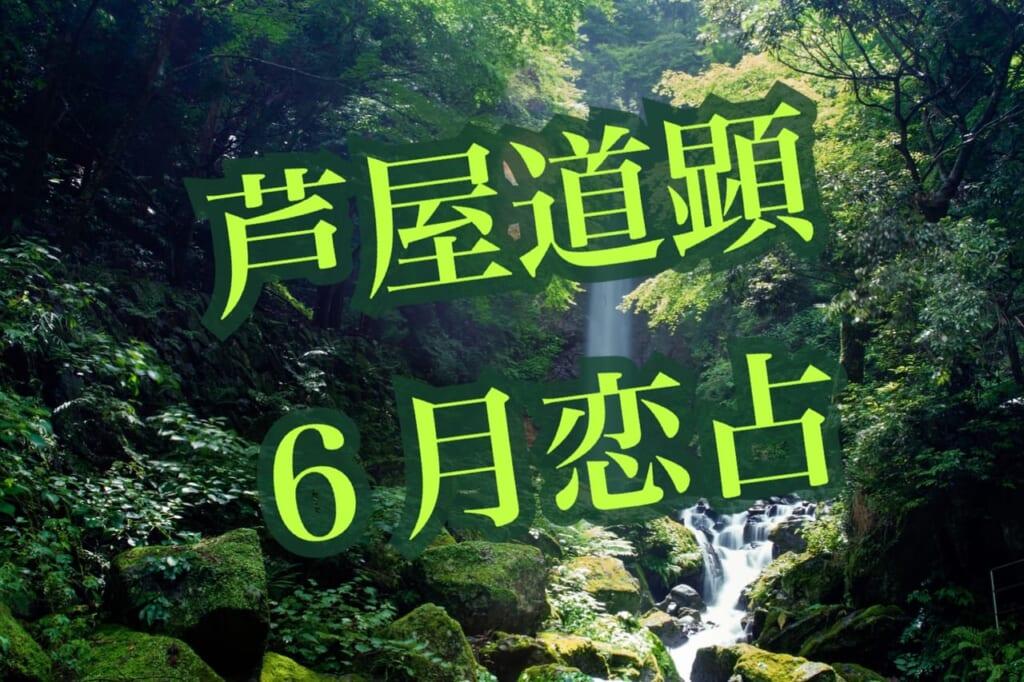 【夏至・満月】6月21日-6月27日の恋愛運【芦屋道顕の音魂占い★2021年】