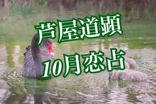 10月11日-10月17日の恋愛運【芦屋道顕の音魂占い★2021年】